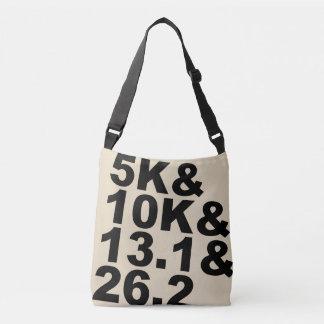 5K&10K&13.1&26.2 (blk) Crossbody Bag