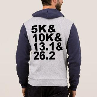 5K&10K&13.1&26.2 (blk) Hoodie