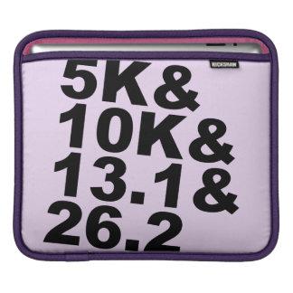 5K&10K&13.1&26.2 (blk) iPad Sleeve
