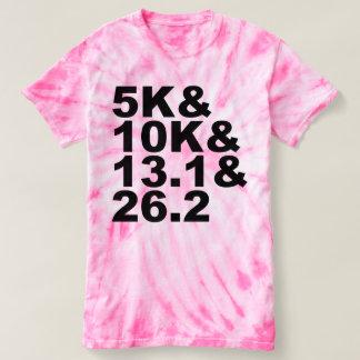 5K&10K&13.1&26.2 (blk) T-shirt