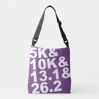 5K&10K&13.1&26.2 (wht) Crossbody Bag