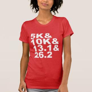 5K&10K&13.1&26.2 (wht) T-Shirt