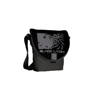 5m black armor Lyons iphone android Messenger Bag
