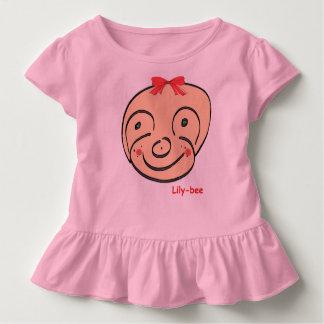 5rArte Toddler Ruffle Tee Lily-bee