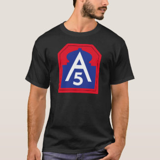 5th Army Image T-Shirt