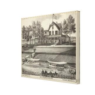 5th Avenue House, Ocean Beach, NJ Canvas Print
