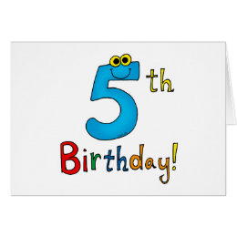 5 year old girl cards photocards invitations more 5th birthday card bookmarktalkfo Image collections