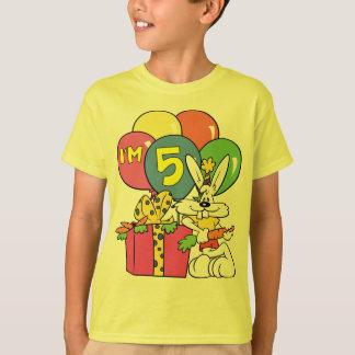 5th Birthday Rabbit T-Shirt