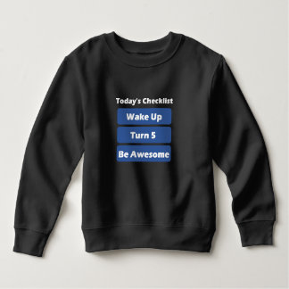5th Birthday Sweatshirt