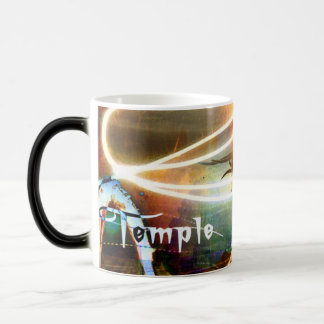 5th Dimension Fire Mug2 Black/Morphing Magic Mug