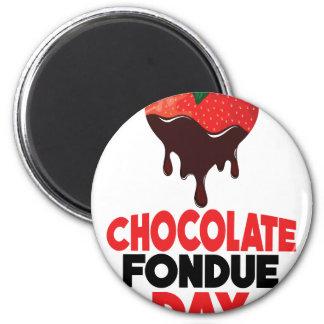 5th February - Chocolate Fondue Day Magnet