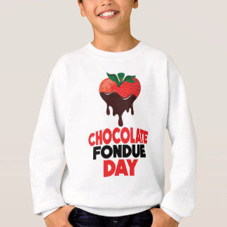 5th February - Chocolate Fondue Day Sweatshirt