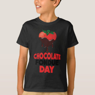 5th February - Chocolate Fondue Day T-Shirt