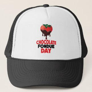 5th February - Chocolate Fondue Day Trucker Hat