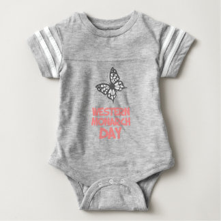 5th February - Western Monarch Day Baby Bodysuit