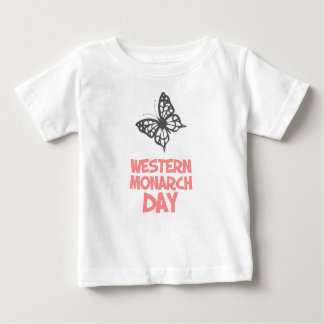 5th February - Western Monarch Day Baby T-Shirt
