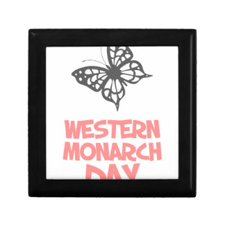 5th February - Western Monarch Day Gift Box