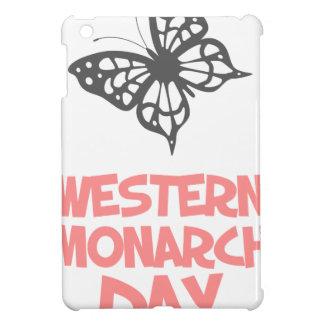 5th February - Western Monarch Day iPad Mini Cases