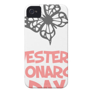 5th February - Western Monarch Day iPhone 4 Case-Mate Cases