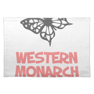 5th February - Western Monarch Day Placemat