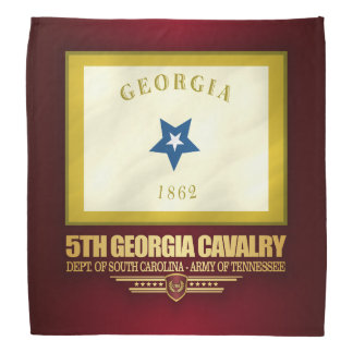 5th Georgia Cavalry Bandana
