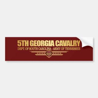 5th Georgia Cavalry Bumper Sticker