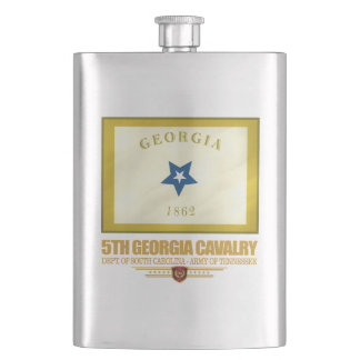 5th Georgia Cavalry Hip Flask