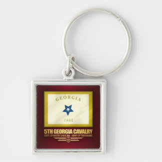 5th Georgia Cavalry Keychain