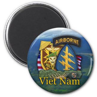 5th green berets macv sog vietnam vets Magnet