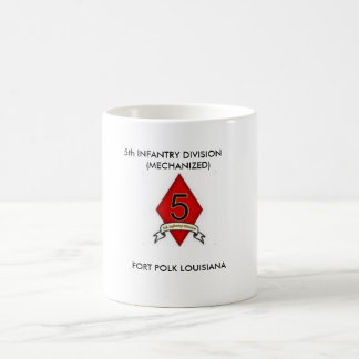 5th Infantry Division Coffee Cup