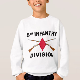 5th Infantry Division - Crossed Rifles Sweatshirt