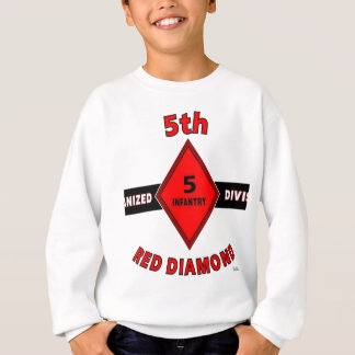 "5TH INFANTRY DIVISION (MECHANIZED)""RED DIAMOND"" SWEATSHIRT"