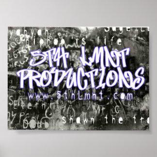 5th Lmnt Graffitti Poster