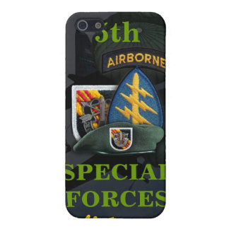5th special forces green beret vietnam i case for the iPhone 5