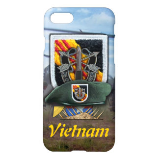 5th special forces green berets SF vietnam nam war iPhone 7 Case