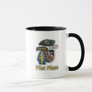 5th Special forces green berets vietnam war Mug