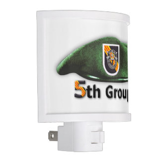 5th Special Forces Group Green Berets SF SFG Night Lights