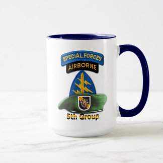 5th Special Forces Group Green Berets SFG SF Vets Mug
