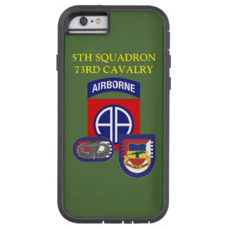 5TH SQUADRON 73RD CAVALRY iPHONE CASE
