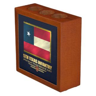 5th Texas Infantry Desk Organizer