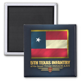 5th Texas Infantry Magnet