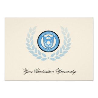 5x7 Blue Crest College Graduation Announcements