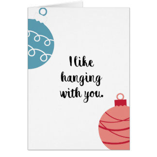 5x7 Funny Christmas Greeting Card
