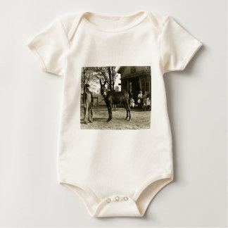 5x7 GLASS NEGATIVE  Milwaukee Mule Baby Bodysuit