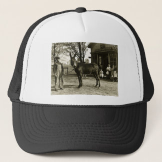 5x7 GLASS NEGATIVE  Milwaukee Mule Trucker Hat