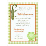 5x7 Invite - Swamp Buddies Birthday Invitation