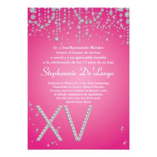 ... Invites, 2,000 Pink Diamond Quinceanera Invitation Templates