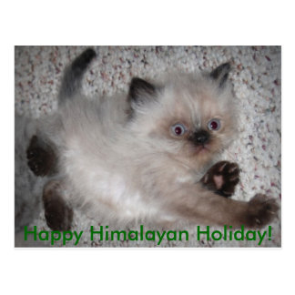 5x7zazzle, Happy Himalayan Holiday! Postcard