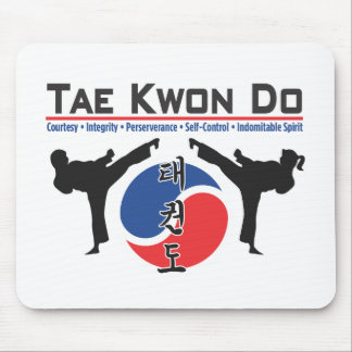 600-2 Tae Kwon Do Mouse Pad