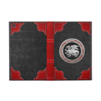 [600] Icelandic Dragon, Landvættir [Silver] Cases For iPad Mini